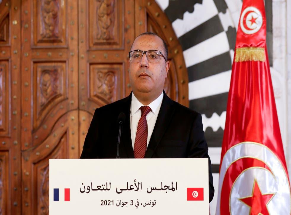 <p>Tunisian Prime Minister Hichem Mechichi </p>