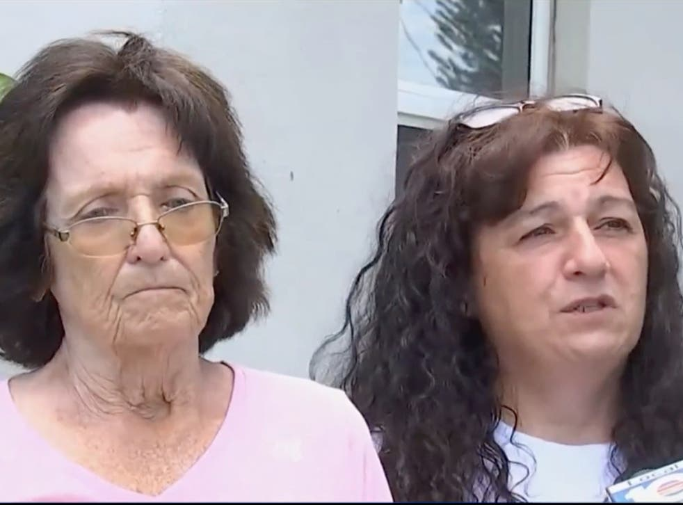 <p>Penkava's mother (left) and sister Gina have vowed to fight for justice</p>