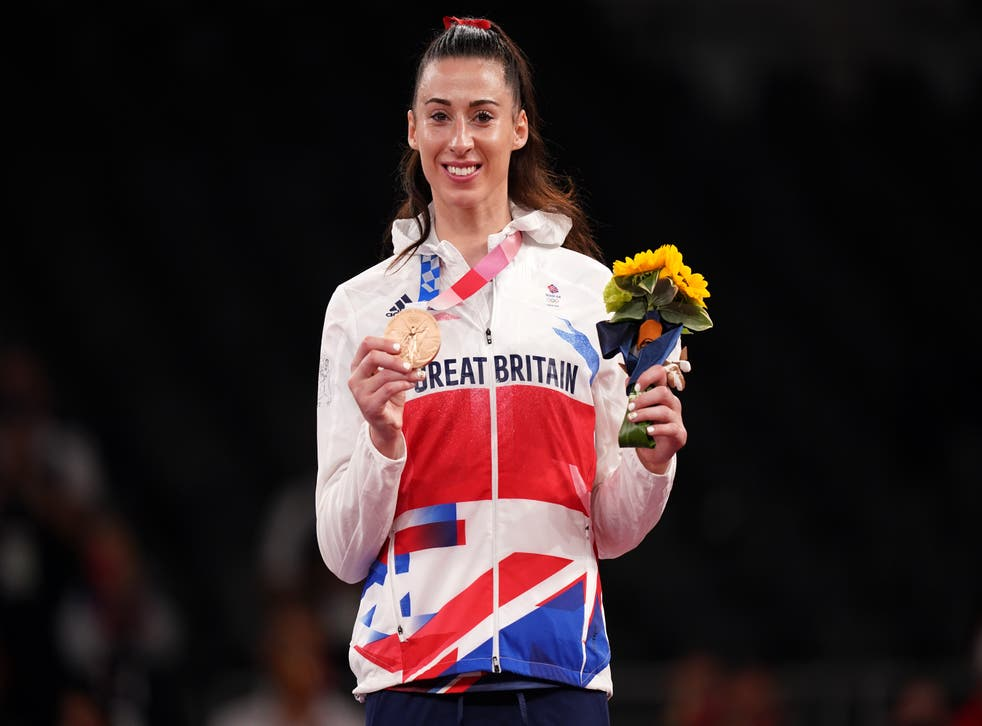 Bianca Walkden is determined to get to Paris and claim a gold medal (Mike Egerton/PA)