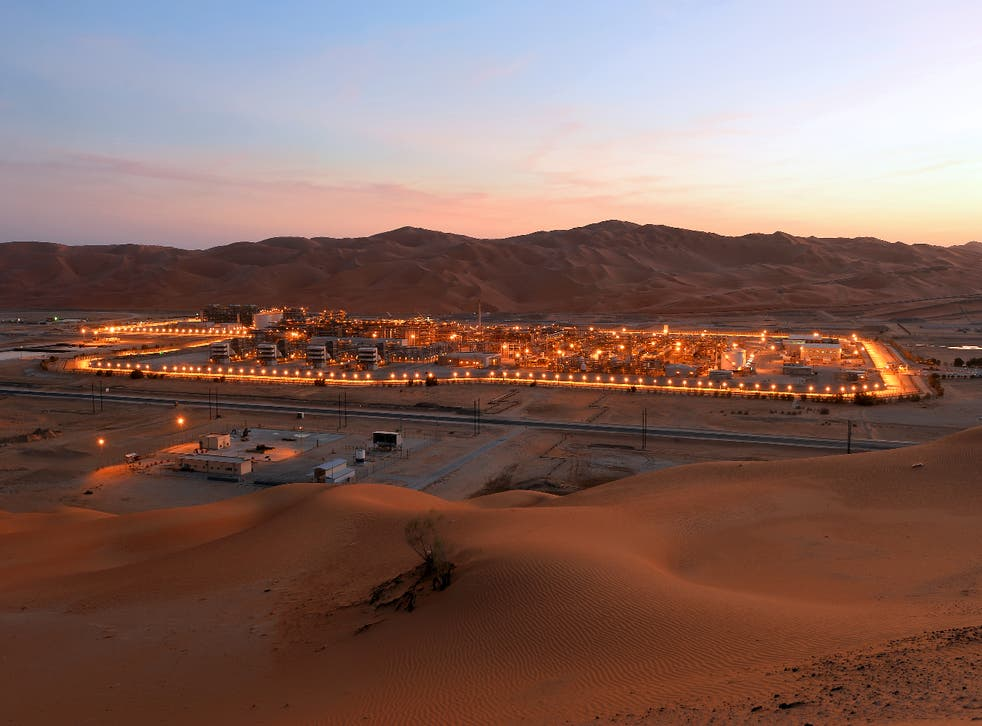 <p>Saudi Arabia is the world's second largest oil producer</p>