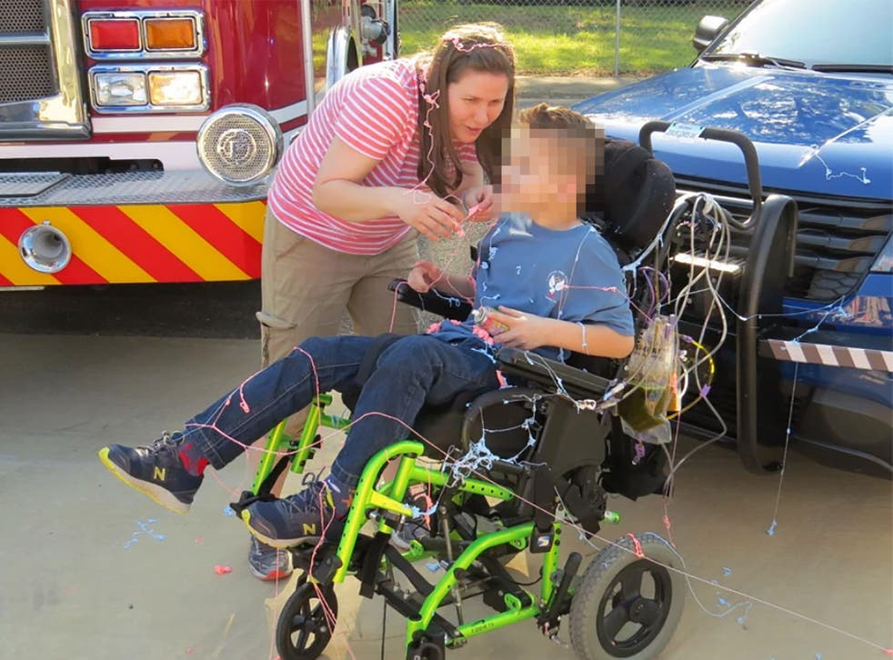<p>Kristy Beth Schneider and Erik Schneider allegedly raised $31,000 in charitable donations for their son between 2017 and 2019</p>