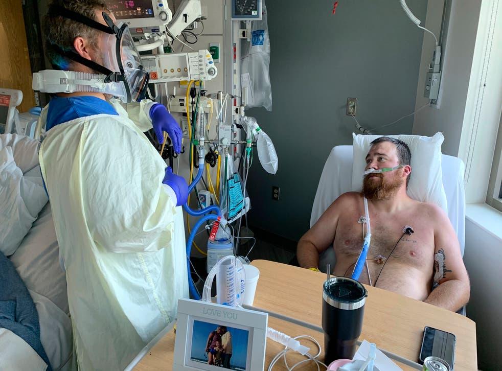 Virus Outbreak Missouri Hospital