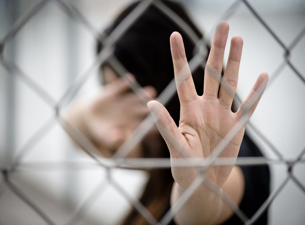 <p>'Half of trafficked people are in forced labour'</p>