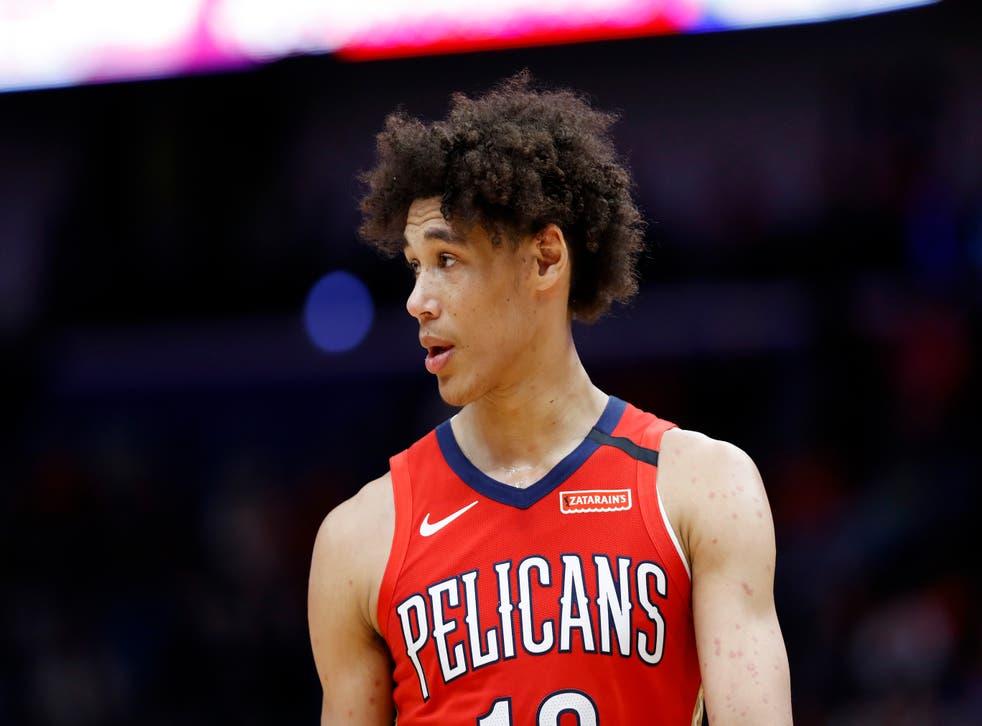 Pelicans Jaxson Hayes Arrest Basketball