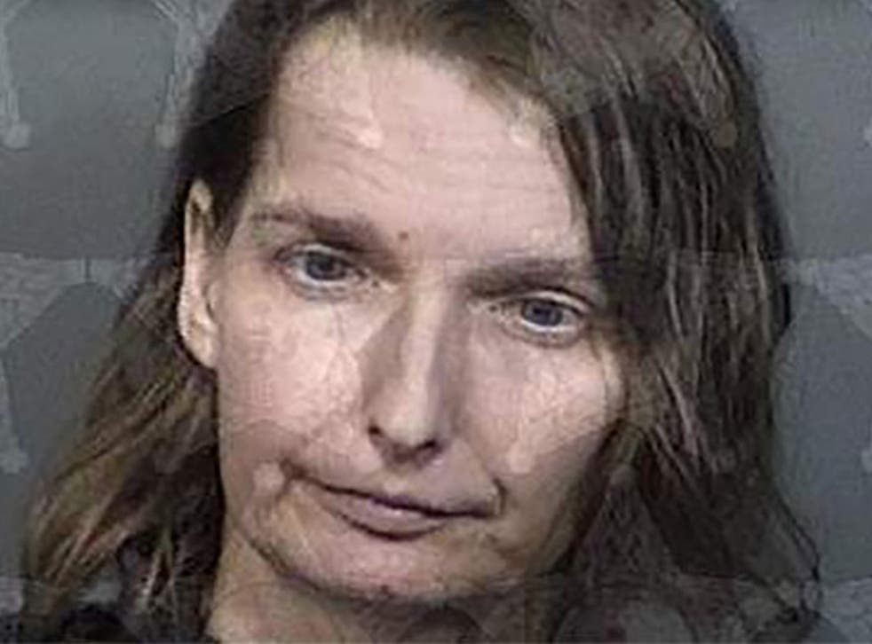 <p>Melissa Doss, 43, was arrested after police found her autistic daughter had been kept in a wood and metal cage in her Florida home. </p>
