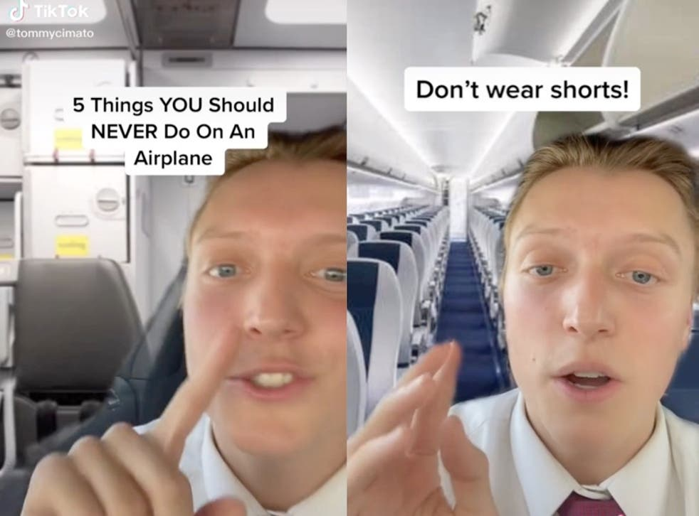 <p>Flight attendant shares five things you should never do on an airplane</p>