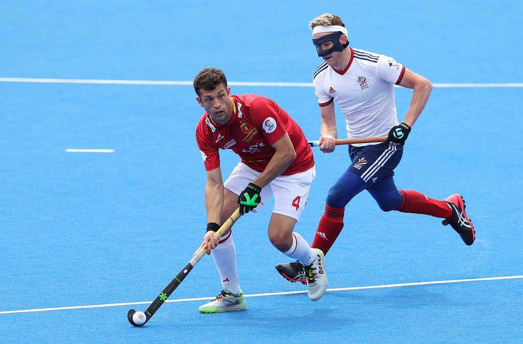 Sam Ward: Why is he wearing a face mask while competing in the Olympics