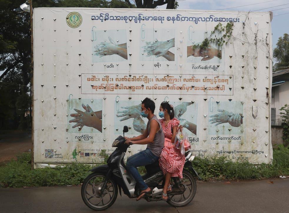 APTOPIX Virus Outbreak Myanmar