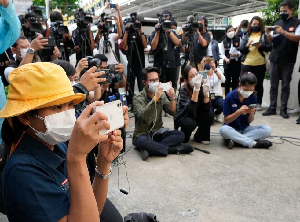 Virus Outbreak Thailand Media Restrictions