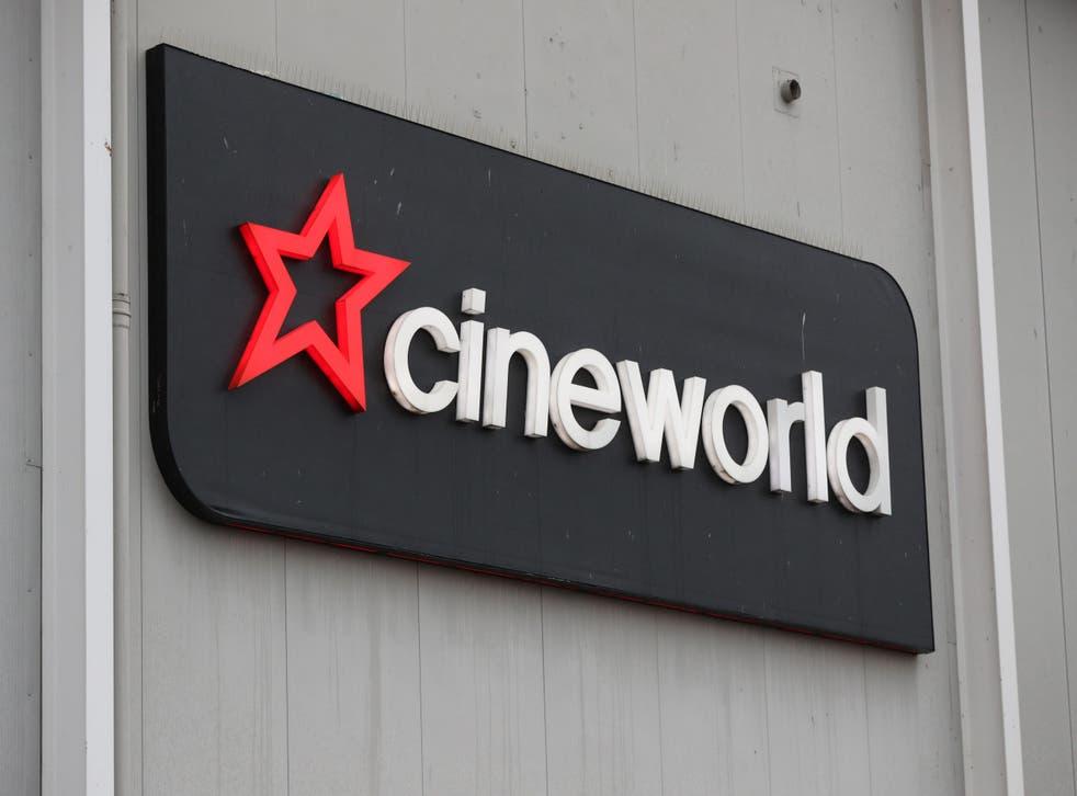 Cinema chain Cineworld has secured new loans to boost its financial position (Jonathan Brady/PA)