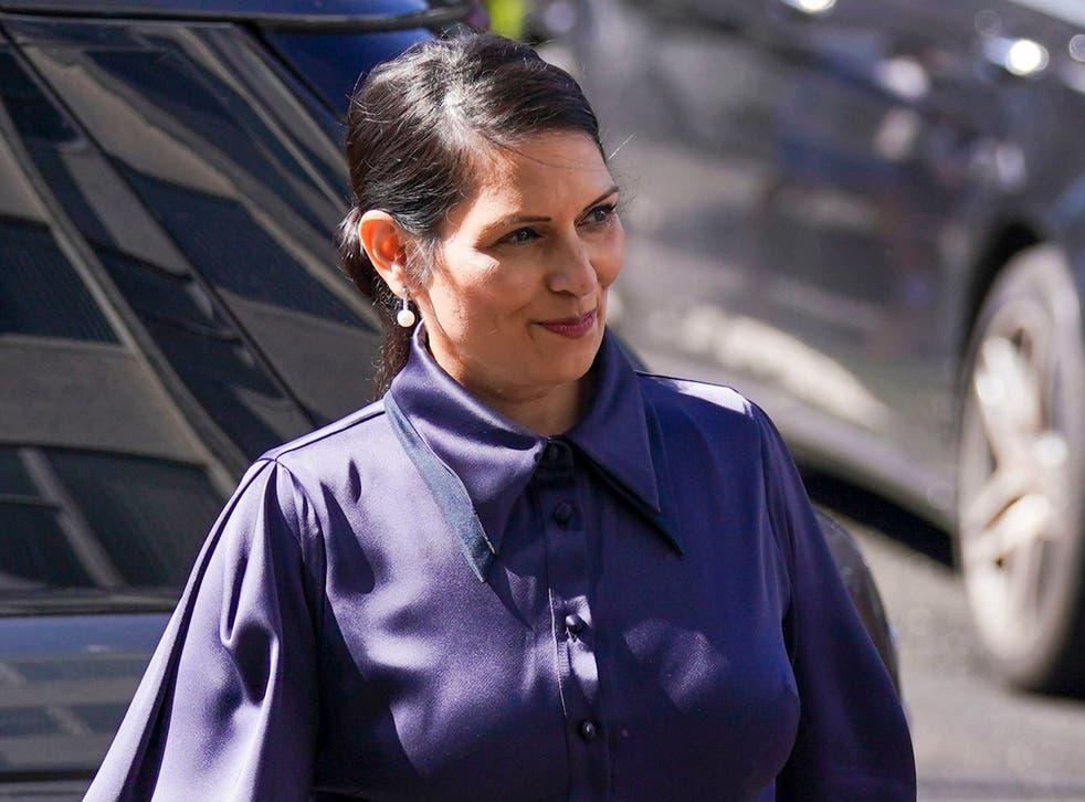 <p>Priti Patel, the home secretary, has embraced hardline policies </p>