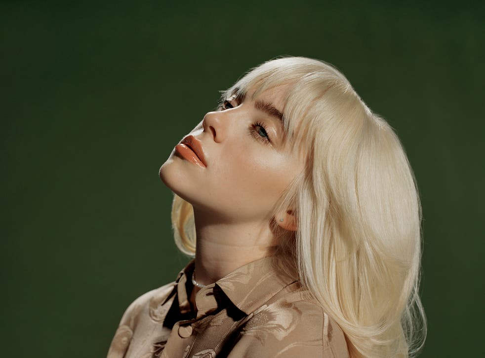 <p>Billie Eilish, who has just released her second album, 'Happier Than Ever'</p>