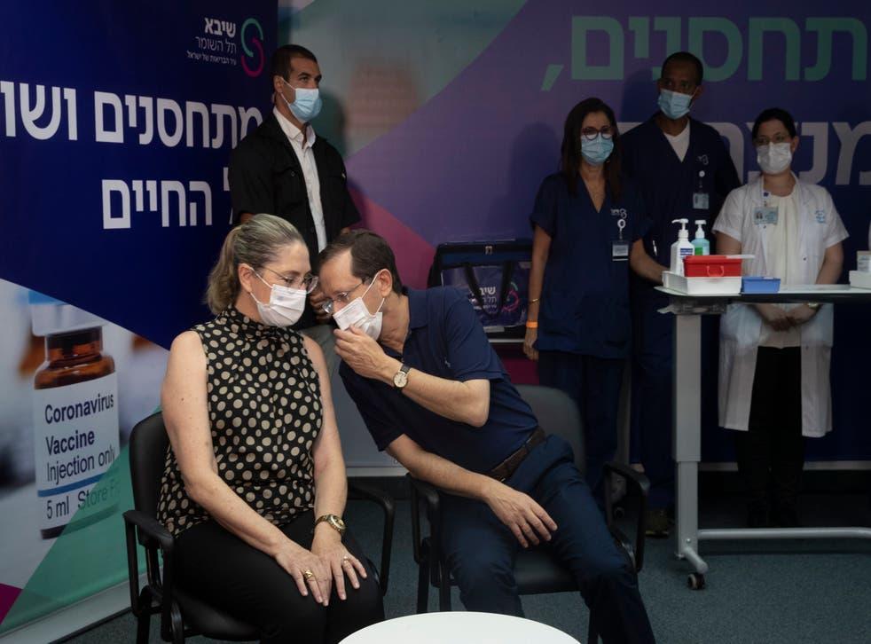 Virus Outbreak Israel Vaccinations