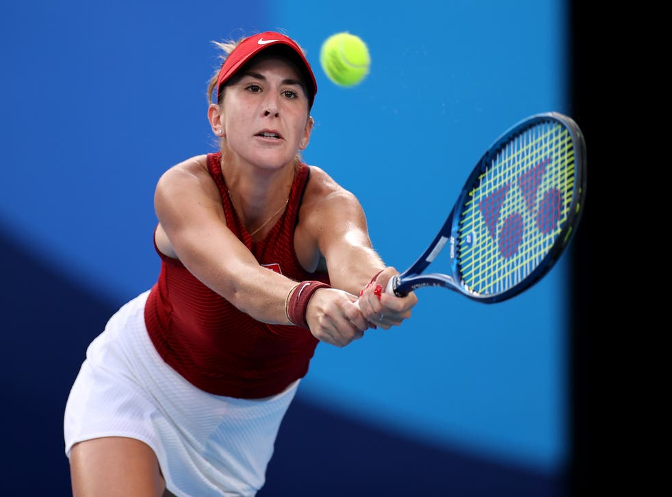 <p>Belinda Bencic secured her spot in the final with a win over Elena Rybakina</p>
