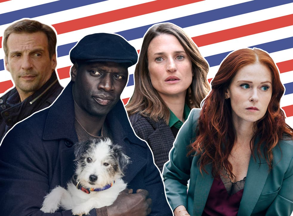 <p>Stars de la télévision! Mathieu Kassovitz in 'Le Bureau', Omar Sy in 'Lupin', Camille Cottin in 'Call My Agent!' and Audrey Fleurot in 'Spiral'</p>