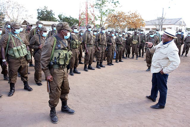 Mozambique Foreign Troops