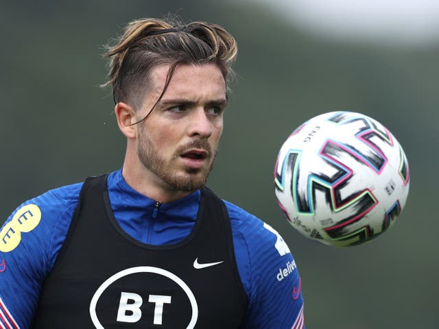 <p>Manchester City transfer target Jack Grealish</p>