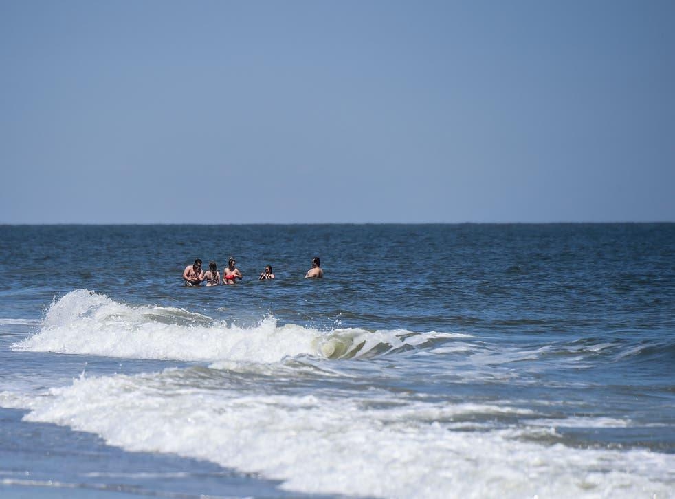 <p>Tybee Island, Georgia, where a shark bit a surfing instructor earlier this week.</p>