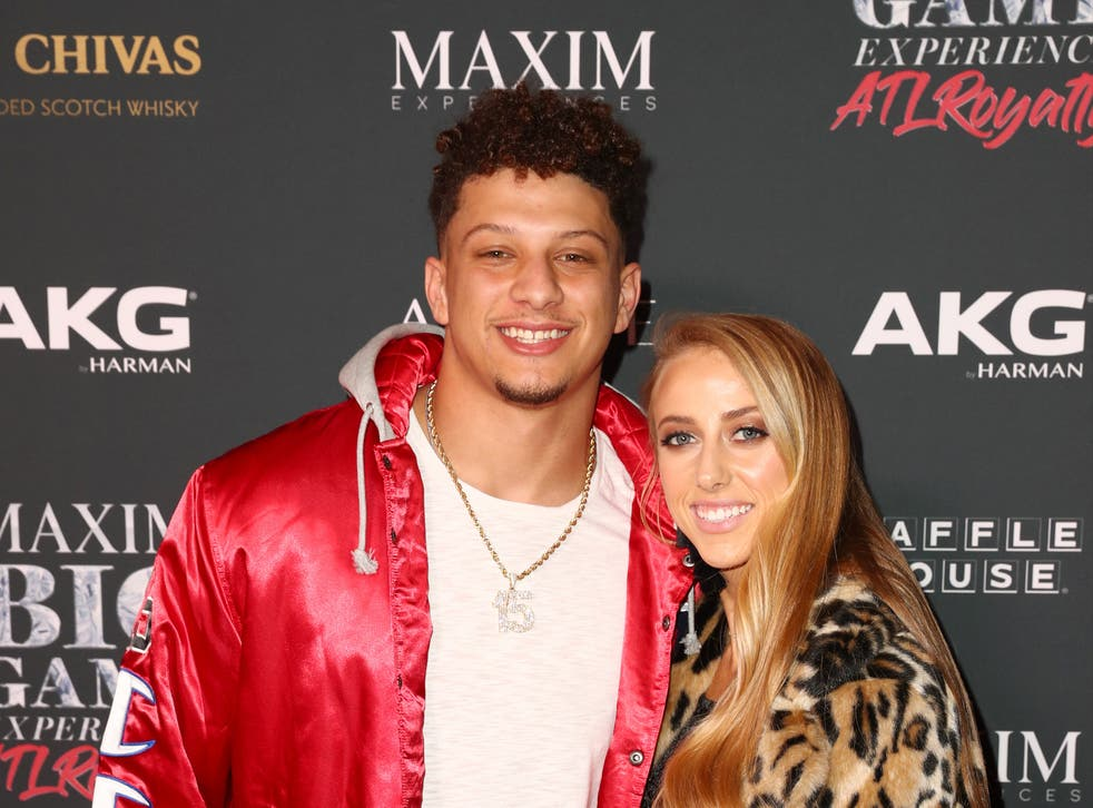 <p>Patrick Mahomes reveals why he and Brittany Matthews decided to share photos of their daughter on social media</p>
