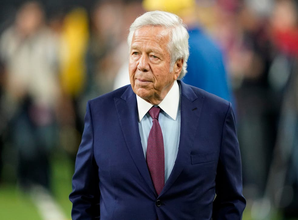 Patriots Owner-Prostitution Charge Football