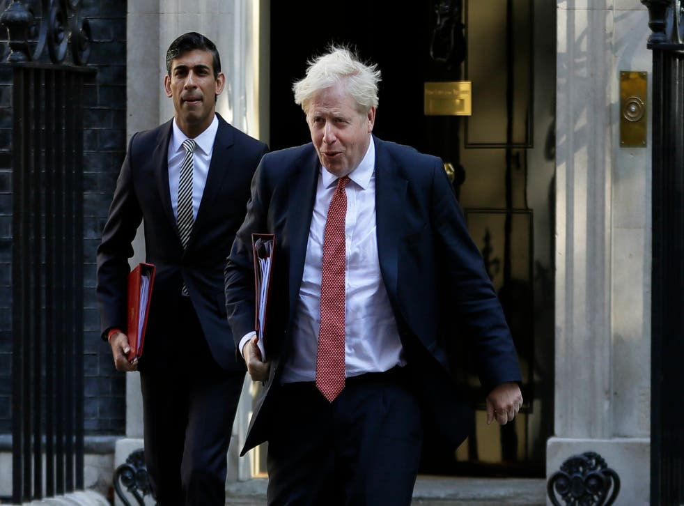 <p>The prime minister, with one of the biggest of the 'biggish beasts' in his cabinet </p>