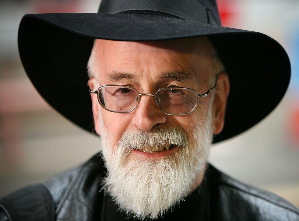 <p>Terry Pratchett</p>