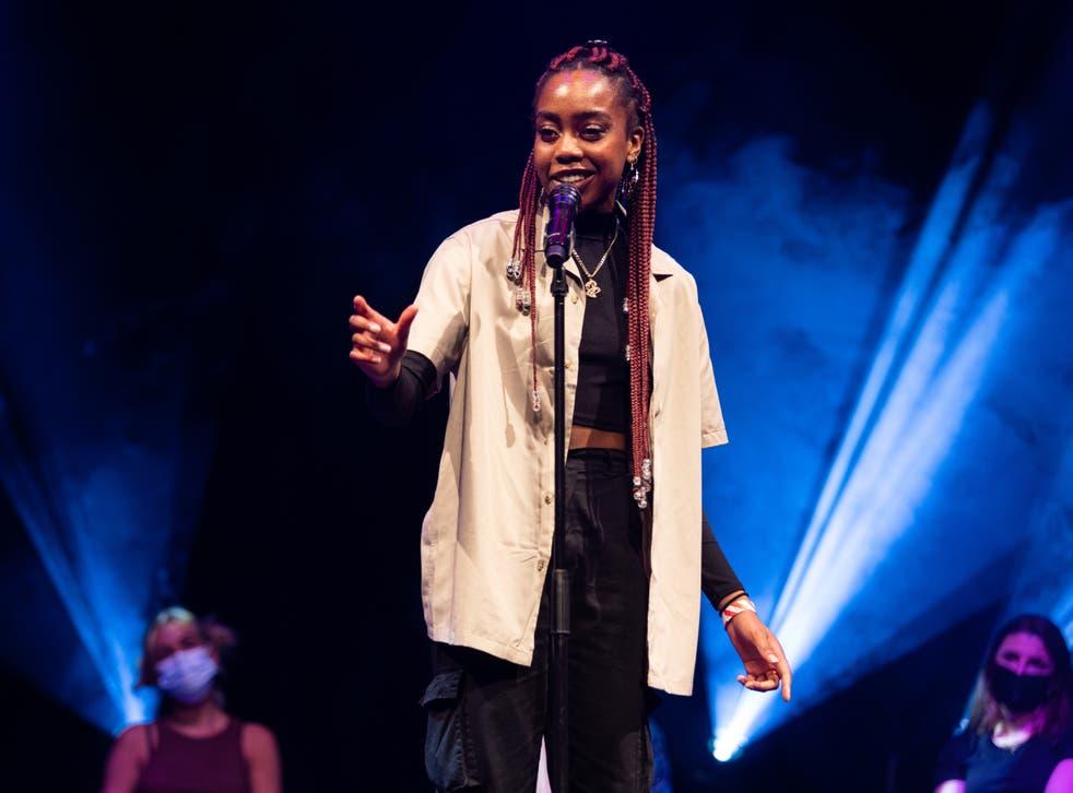 <p>Roundhouse poetry slam champion Maureen Onwunali</p>