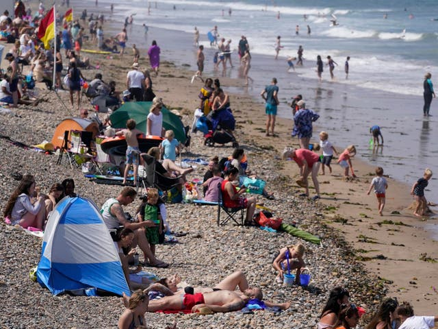 <p>A drier and warmer than average period is forecast from August 14</p>