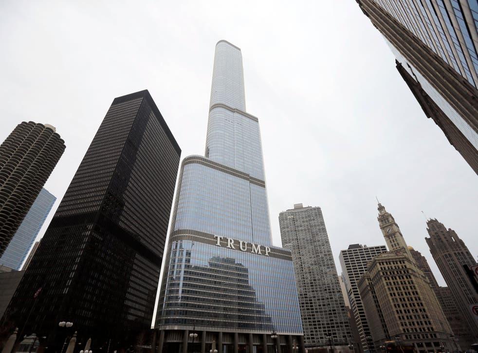 Trump Chicago Skyscraper