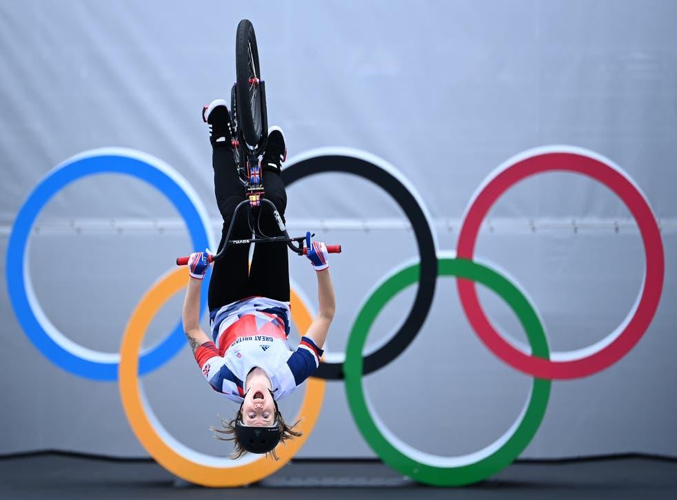 Charlotte Worthington is an Olympic champion (Marijan Murat via DPA/PA)