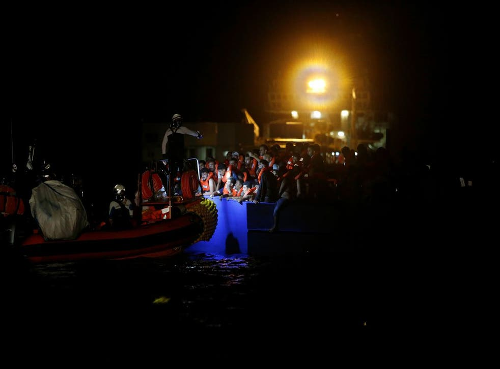 <p>It is not yet known whether anyone died or was injured when the overcrowded boat's engine stopped working</p>