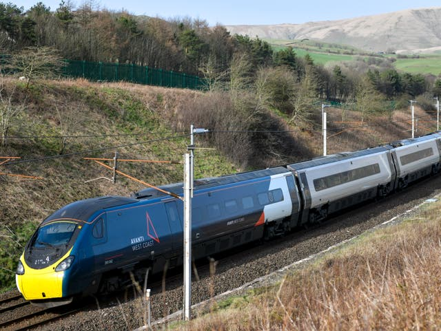 <p>Tickets please: Avanti West Coast express in Cumbria</p>