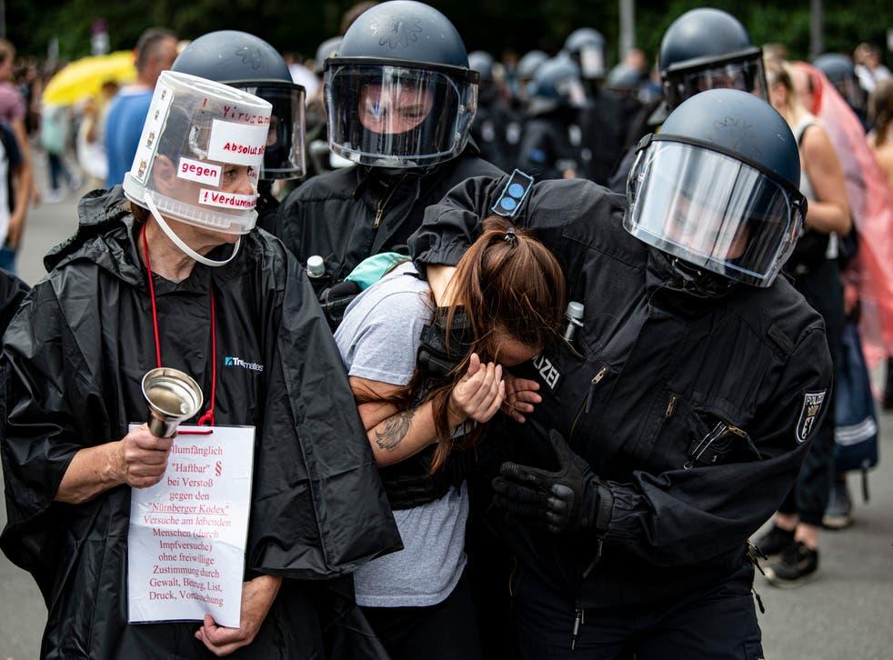 CORONAVIRUS-ALEMANIA-PROTESTAS