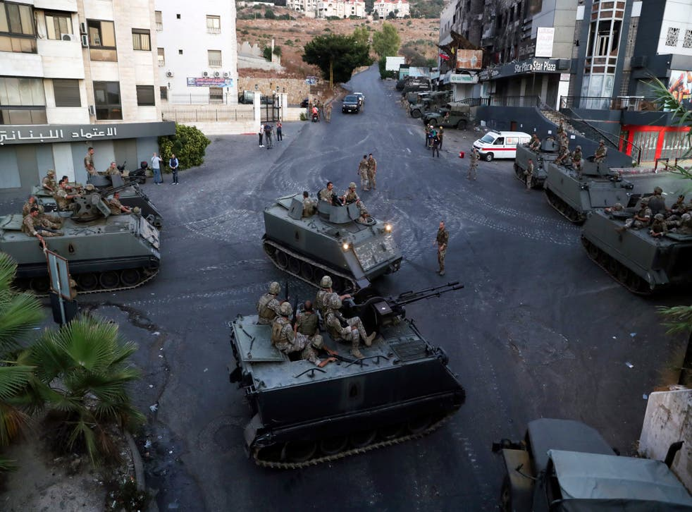 Lebanon Shooting