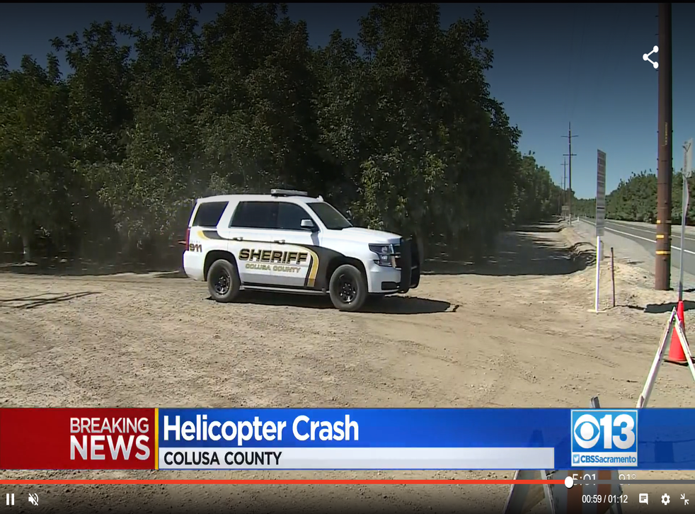 <p>The Colusa County Sheriff's Department says the four people died at the scene of the crash</p>