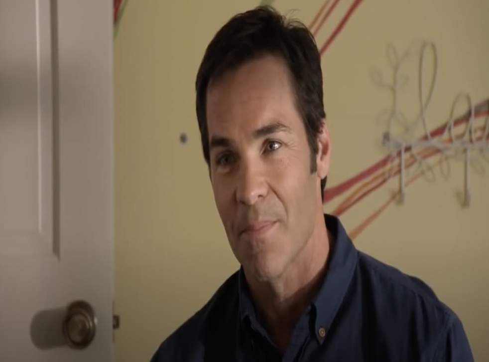 <p>File: Jay Pickett seen here in the 'A Matter of Faith' movie</p>