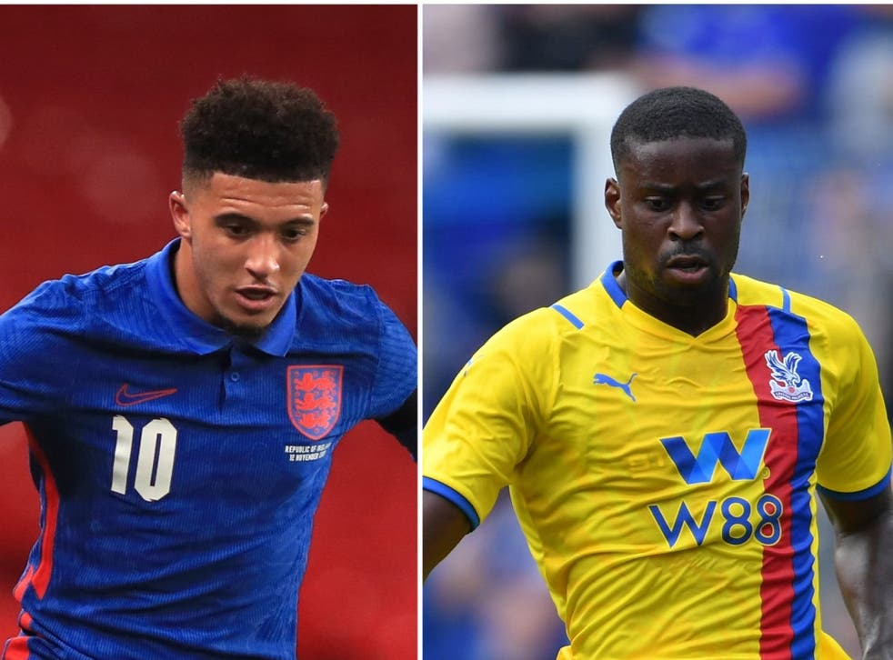 Jadon Sancho, Marc Guehi and Boubakary Soumare will look to make their mark in the Premier League this season (PA)