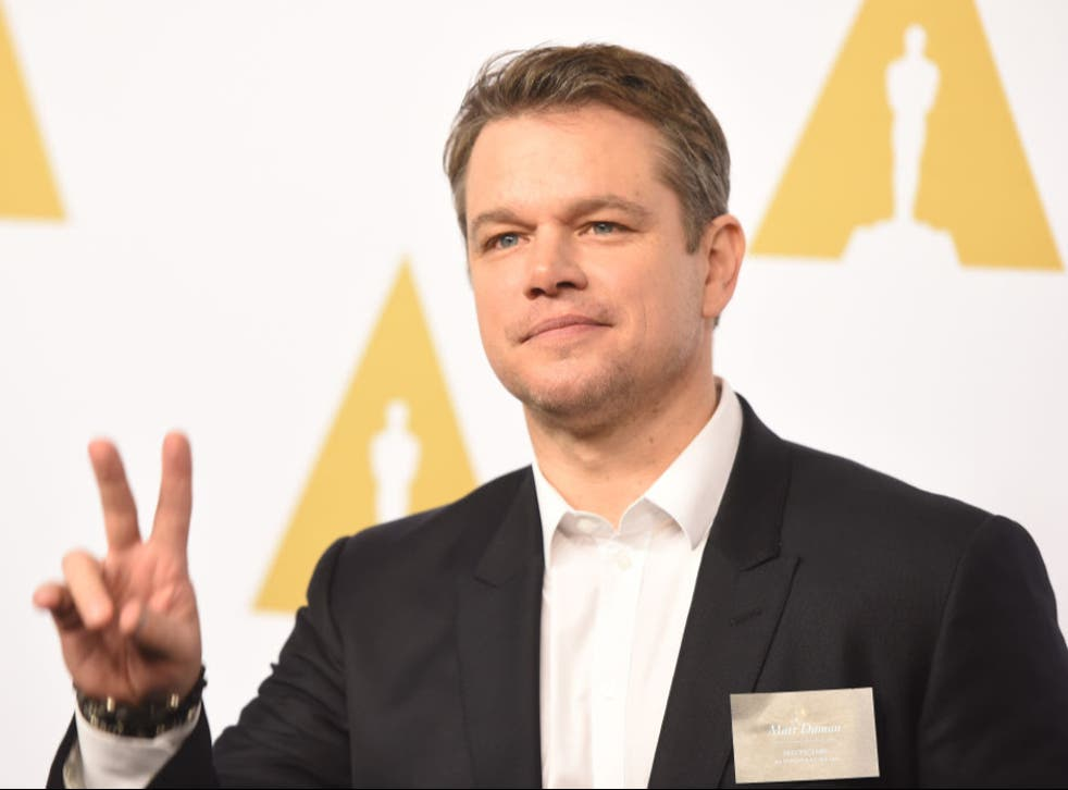 <p>'Matt Damon is actually only 50. And he should know better'</p>