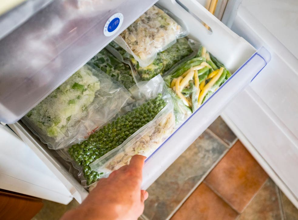 <p>Freeze your going-off fruit and veg for future stews, soups and smoothies</p>
