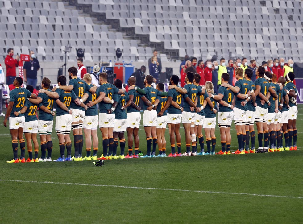 South Africa have been accused of playing boring rugby (Steve Haag/PA)