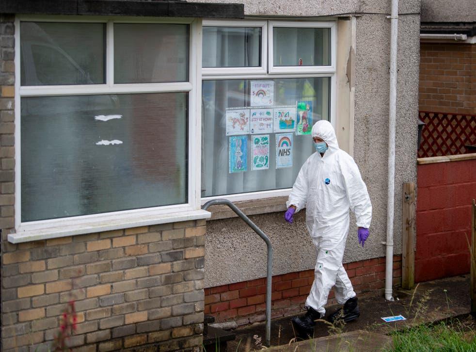 <p>Police were making inquiries in Bridgend after the boy's death</p>