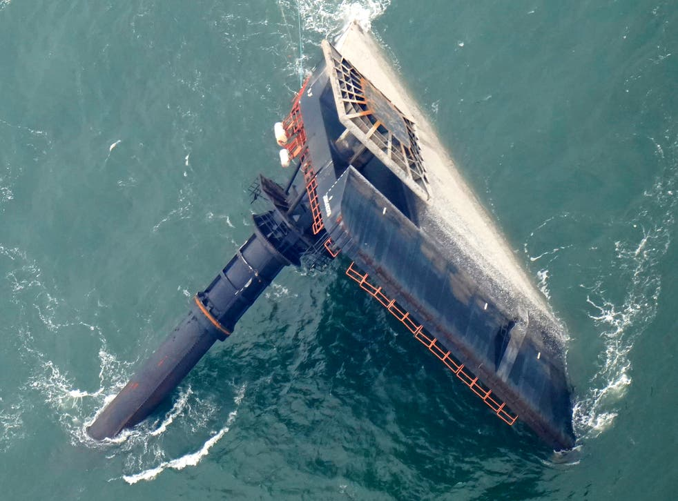 Capsized Ship Hearing