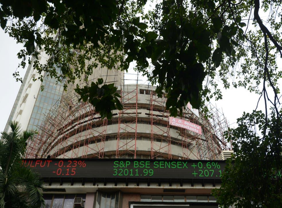 <p>File image: Sensex closed at 52,950, up 0.7 per cent on.Monday </p>