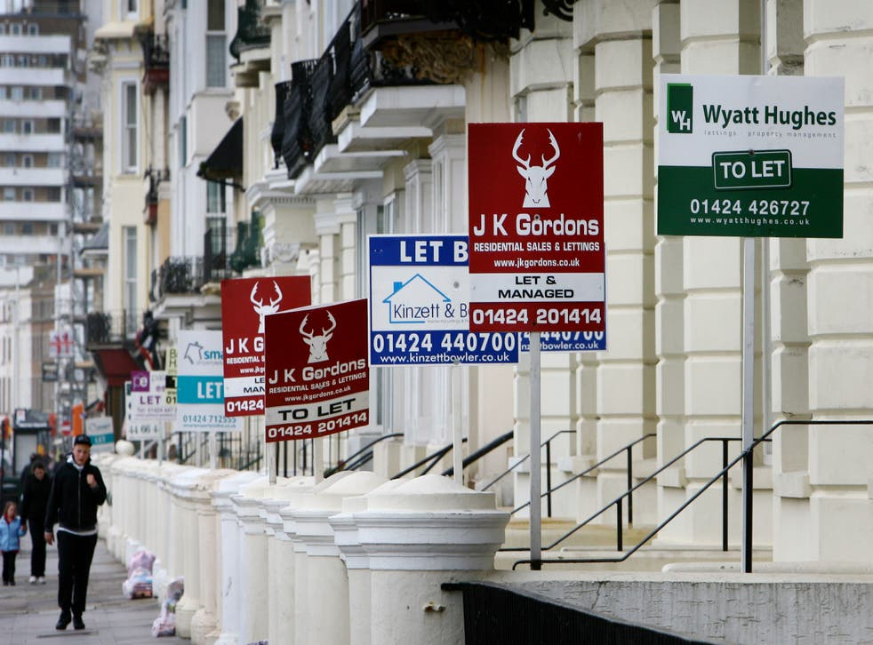 Nearly half of private landlords said they reduced or paused their tenants' monthly rent payments last year due to the coronavirus pandemic, according to Shawbrook Bank (Gareth Fuller/PA)