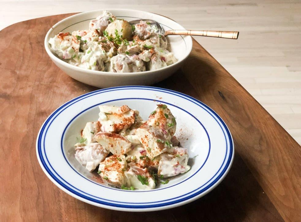 <p>Even for omnivores, this vegan potato salad is a hit</p>