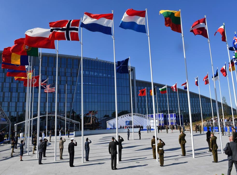 NATO Europe Iran