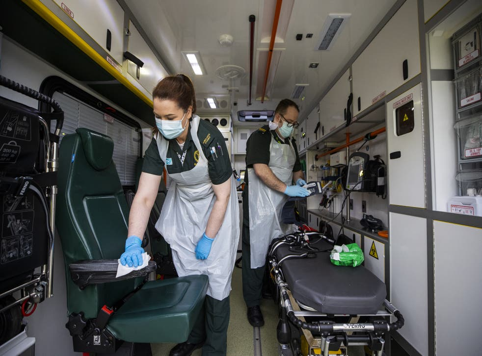 <p>Currently, it can take around 30 to 40 minutes to disinfect an ambulance</p>
