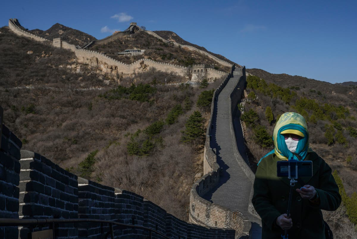 Chinese actor faces backlash for video dancing on Great Wall of China