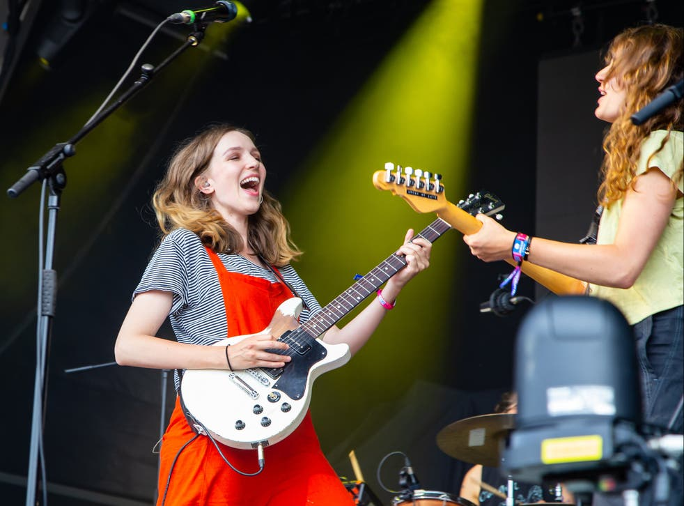 <p>The Big Moon perform at Standon Calling Festival</p>