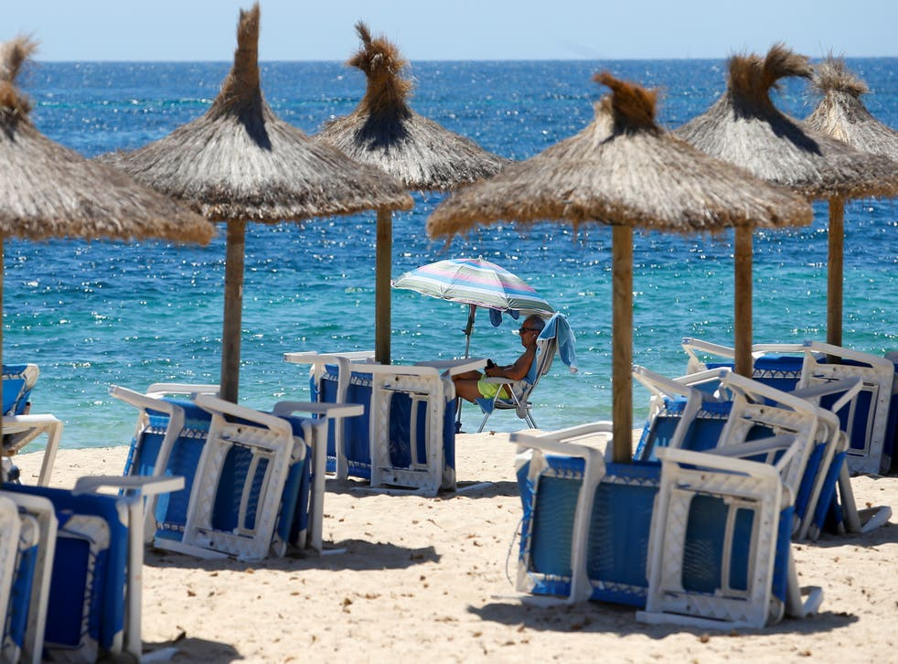 <p>Mallorca is on the amber list</p>